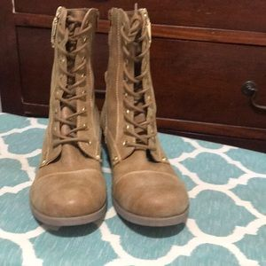 Never worn Combat Boots